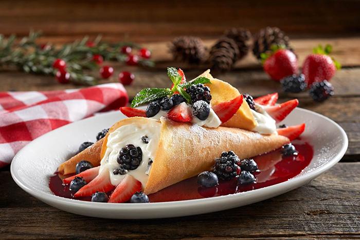 menú navideño de Italianni's
